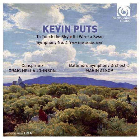 Baltimore Symphony Orchestra, Marin Alsop: Kevin Puts: Symphony no.4 - CD