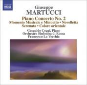 Francesco La Vecchia: Martucci, G.: Orchestral Music (Complete), Vol. 4  - Piano Concerto No. 2 / Momento Musicale E Minuetto / Novelletta - CD