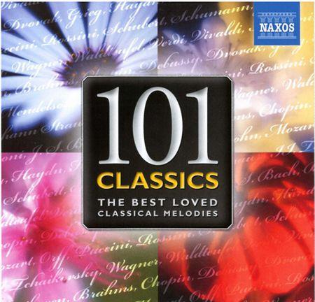 Çeşitli Sanatçılar: 101 Classics - The Best Loved Classical Melodies - CD