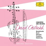 David Oistrakh, Igor Oistrakh: David Oistrakh - Concertos And Encores - CD
