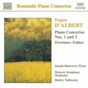 Albert: Piano Concertos Nos. 1 and 2 / Esther Overture - CD