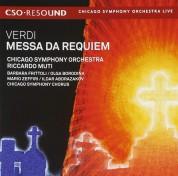 Riccardo Muti, Chicago Symphony Orchestra, Barbara Frittoli, Olga Borodina: Verdi: Messa Da Requiem - SACD
