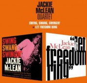 Jackie McLean: Swing, Swang, Swinging + Let Freedom Ring - CD
