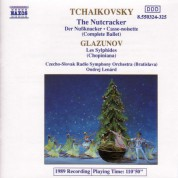 Tchaikovsky: Nutcracker (The) / Glazunov: Les Sylphides - CD
