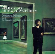 Seiji Ozawa: Mussorgsky: Pictures At An Exhibition - CD