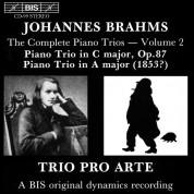Trio Pro Arte: Brahms: Piano Trios, Vol.2 - CD