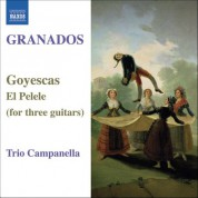 Campanella Trio: Granados: Goyescas / El Pelele (Arr. for 3 Guitars) - CD