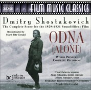 Mark Fitz-Gerald: Shostakovich: Odna (Alone) - CD