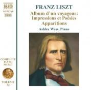 Ashley Wass: Liszt: Album d'un voyageur: Impressions et Poesies - Apparitions - CD
