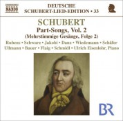 Ulrich Eisenlohr: Schubert: Lied Edition 33 - Part Songs, Vol. 2 - CD