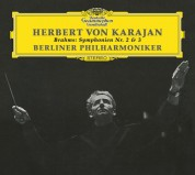 Berliner Philharmoniker, Herbert von Karajan: Brahms: Symphonien No. 2,3 - CD