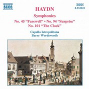 Capella Istropolitana: Haydn: Symphonies Nos. 45, 94 and 101 - CD