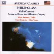 Glass, P.: Violin Concerto / Company / Prelude From Akhnaten - CD