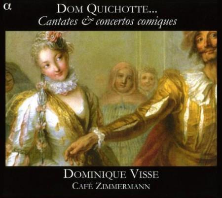 Cafe Zimmermann, Dominique Visse: Cantates & Concertos Comiques - CD