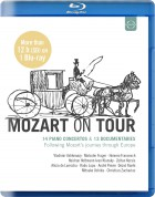 Çeşitli Sanatçılar: Mozart on Tour - Following Mozart's Journey Through Europe - BluRay