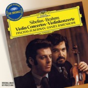 Pinchas Zukerman, London Philharmonic Orchestra, Orchestre de Paris, Daniel Barenboim: Sibelius/ Brahms: Violin Concertos - CD