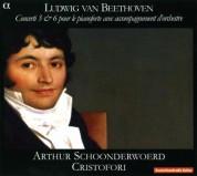 Arthur Schoonderwoerd, Cristofori: Beethoven - Piano Concertos No. 3 & 6 - CD