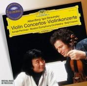 Boston Symphony Orchestra, Itzhak Perlman, New York Philharmonic Orchestra, Seiji Ozawa, Zubin Mehta: Berg/ Stravinsky/ Ravel: Violin Concertos/ Tzigane - CD