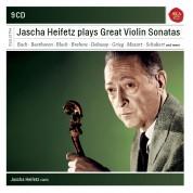 Jascha Heifetz: Plays Great Violin Sonatas - CD