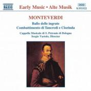 Monteverdi: Ballo Delle Ingrate / Combattimento Di Tancredi E Clorinda - CD