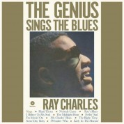 Ray Charles: The Genius Sings The Blues (Blue Vinyl) - Plak