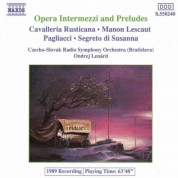 Opera Intermezzi And Preludes - CD