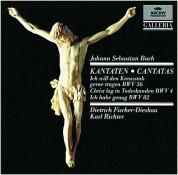Dietrich Fischer-Dieskau, Karl Richter, Münchener Bach-Chor: Bach, J.S.: Kantaten Bwv 56, 4, 82 - CD