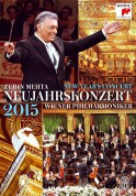 Zubin Mehta, Wiener Philharmoniker: 2015 New Year's Concert - DVD