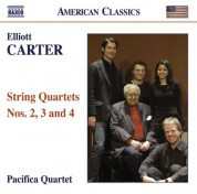 Pacifica Quartet: Carter, E.: String Quartets Nos. 2, 3 and 4 - CD