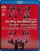 Juha Uusitalo, Lance Ryan, Matti Salminen, Catherine Wyn-Rogers, Orquestra de la Comunitat Valenciana, Zubin Mehta, La Fura Dels Baus: Wagner: Der Ring Des Nibelungen (Highlights) - BluRay