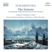 Tchaikovsky: The Seasons (Arr. for Violin and Orchestra) - CD