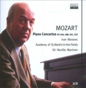Ivan Moravec, Academy of St. Martin in the Fields, Sir Neville Marriner: Piano Concertos KV 466,488,491, 503 - CD