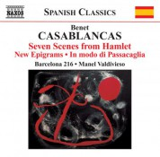 Barcelona 216: Casablancas: 7 Scenes from Hamlet - CD