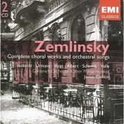 James Conlon: Zemlinsky: Complete choral works and orchestral songs - CD