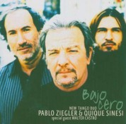 Pablo Ziegler: New Tango Duo - Bajo Cero - CD