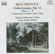 Takako Nishizaki, Jenö Jandó: Beethoven: Violin Sonatas Op. 12,  Nos. 1-3 - CD