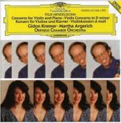 Gidon Kremer, Martha Argerich, Orpheus Chamber Orchestra: Mendelssohn: Konzert für Violin und Klavier - CD