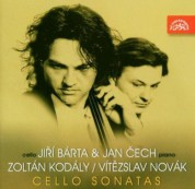 Jan Cech, Jiri Barta: Kodaly - Novak, Sonata for Cello solo, Sonata for cello & piano - CD