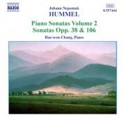 Hae Won Chang: Hummel: Piano Sonatas, Vol. 2 - Nos. 4, 6 - CD