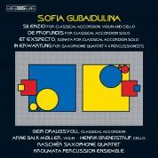 Henrik Brendstrup, Geir Draugsvoll, Arne Balk-Moller, Kroumata Percussion Ensemble, Rascher Saxophone Quartet: Gubaidulina: Silenzio, Et exspecto - CD