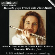 Manuela Wiesler - French Solo Flute Music - CD