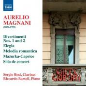 Riccardo Bartoli, Sergio Bosi: Magnani: Virtuoso Clarinet Works - CD