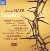 Franz Hauk: Mayr: Requiem in G Minor - CD