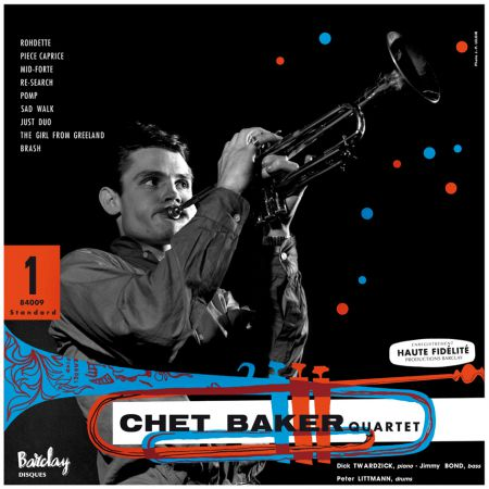 Chet Baker Quartet: Featuring Dick Twardzik - Plak
