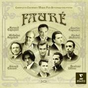 Renaud Capuçon, Gautier Capuçon, Nicholas Angelich, Gerard Causse, Michel Dalberto, Quatuor Ebène: Complete Chamber Music for String and Piano - CD