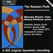 Manuela Wiesler, Roland Pöntinen: The Russian Flute - CD