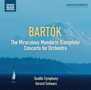 Gerard Schwarz: Bartók: The Miraculous Mandarin - Concerto for Orchestra - CD