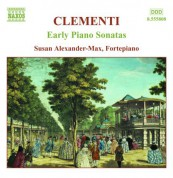 Susan Alexander-Max: Clementi, M.: Early Piano Sonatas, Vol. 1 - CD