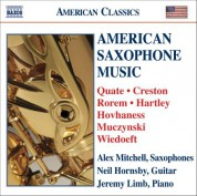 American Saxophone Music - CD