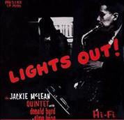 Jackie McLean: Lights Out! (200g-edition) - Plak